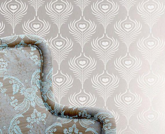 Les 121 meilleures images à propos de stencil sur Pinterest Damas