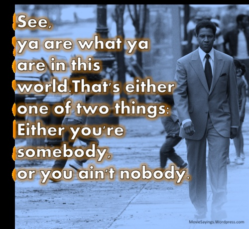 classic Denzel from 'American Gangster'