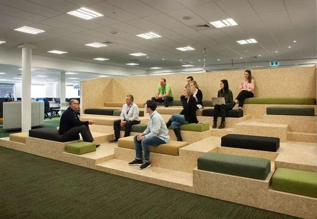Zonas comunes oficinas coworking More