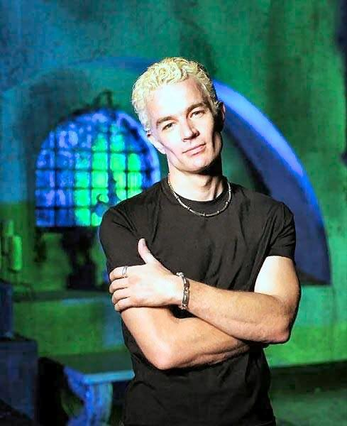 Spike ( James Marsters ) throwback!