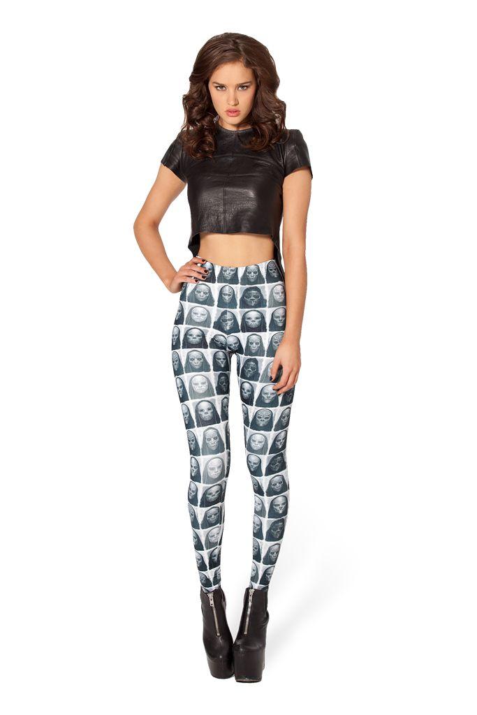 Death Eater Leggings by Black Milk Clothing