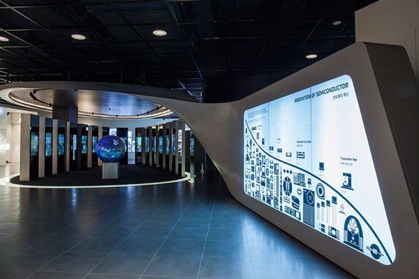 Samsung Exhibition Stand Design : Samsung innovation museum on behance pinterest