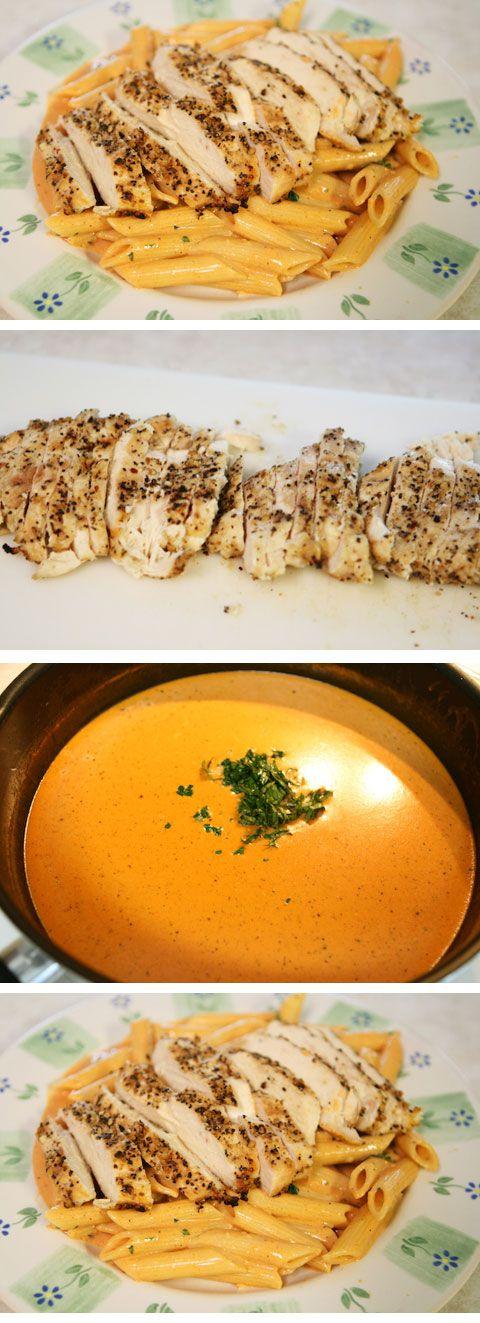 The best chicken pasta recipe on Pinterest!!