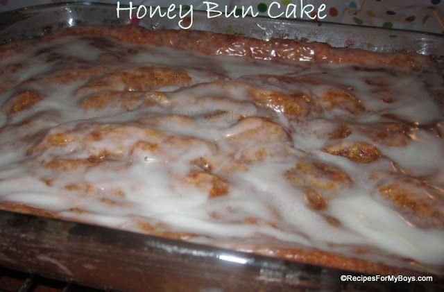 Honey Bun Cake Cake Mix Doctor