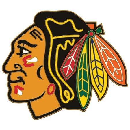 Chicago Blackhawks Logo Pin