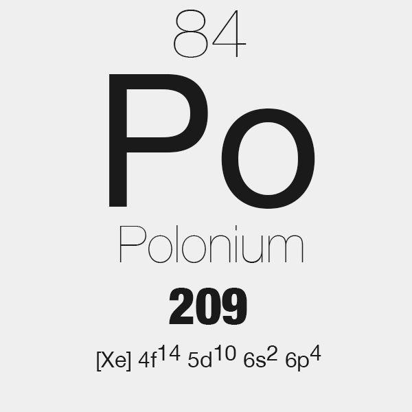 Polonium Stickers | Polonium Sticker Designs | Label Stickers ...