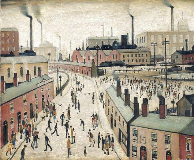 The dark side of the matchstick man: Painter L.S. Lowry never ...