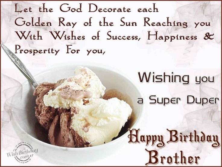 25 best Birthday greetings for brother ideas – Birthday Greeting Cards Brother