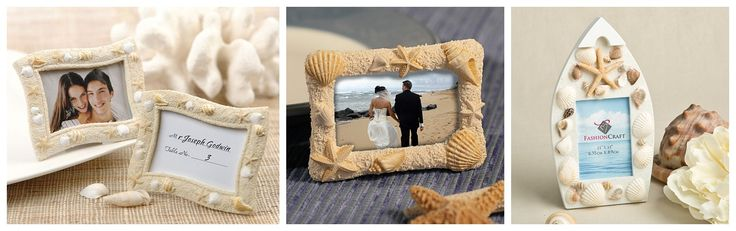 Seashell Themed Place Card Frame from HotRef.com