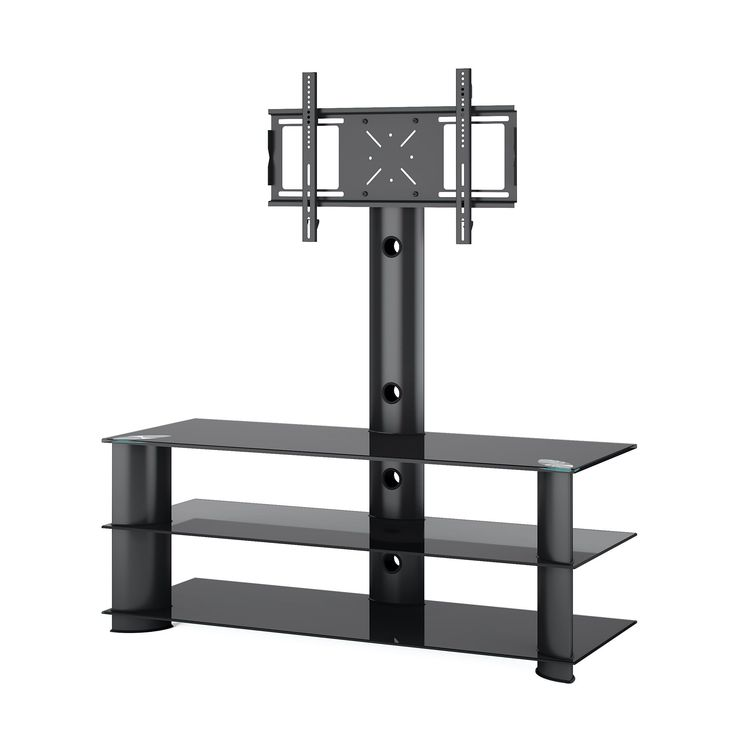 corliving trl601t laguna satin black tv stand with mount tv stand