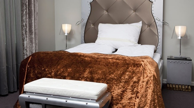 Delikat overnatting hos Clarion Hotel Ernst i Kristiansand #interior #bed #furniture | Nordic Choice