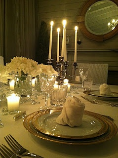 beautiful table settings..