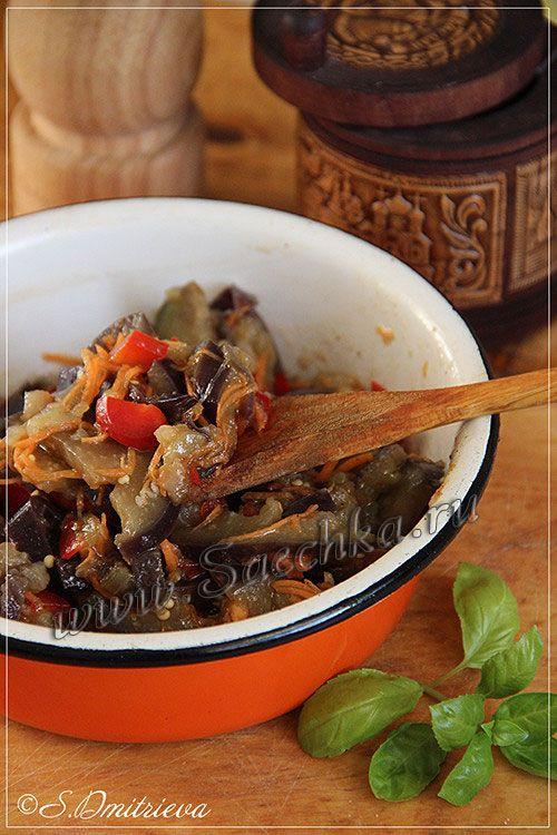 Фото к рецепту: Маринованные баклажаны
