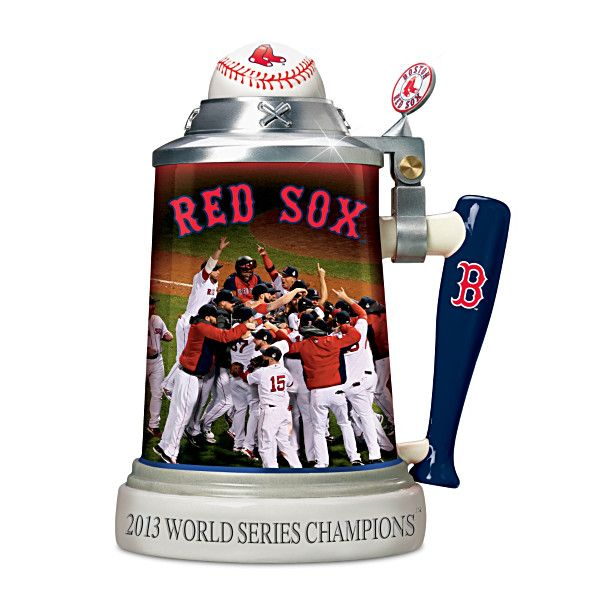 I want this --------》Boston Red Sox 2013 World Series Stein