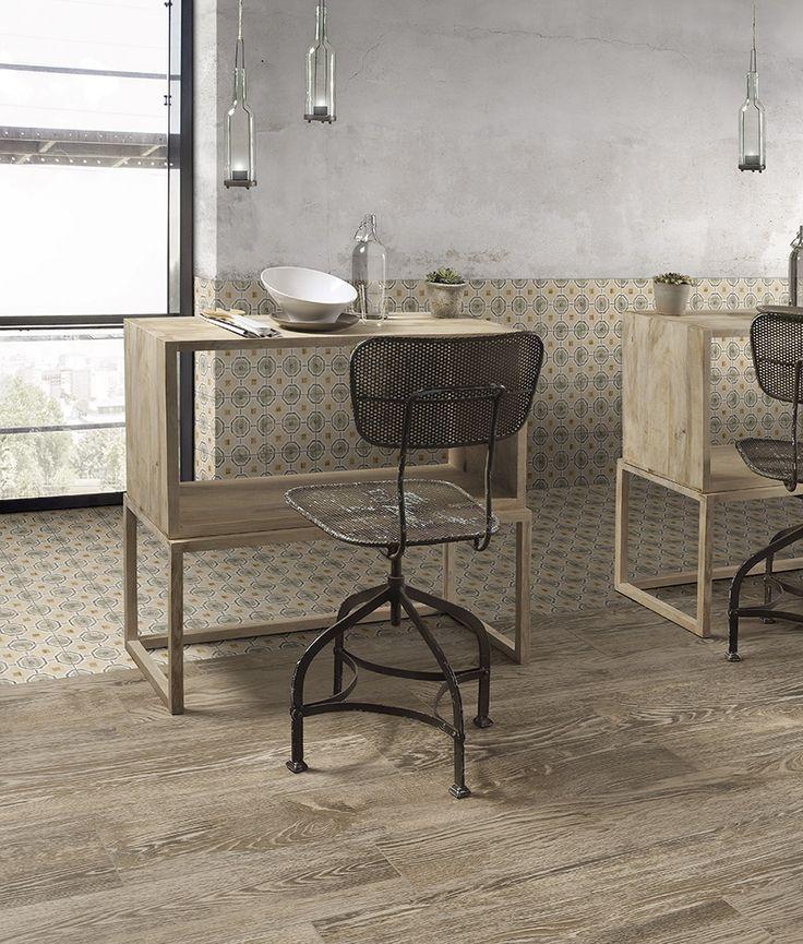 Heel leuk keramisch patroontegel 20x20 geschikt voor vloer en wand (19-TI), Tegelhuys