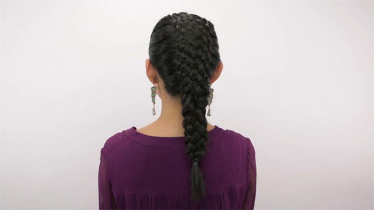 11 Strand Basket Weave Braid Hyperlapse: Watch celebrity hairstylist Sarah Potempa (Instagram: @sarahpotempa) weave this intricate 11-strand braid.