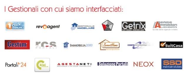 Gestionali con cui siamo interfacciati.  http://www.cambiocasa.it/case_it/registrazione_agenzie_intro.aspx