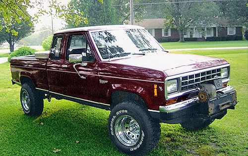 1986 ford ranger xlt lifted trucks pinterest models. Black Bedroom Furniture Sets. Home Design Ideas