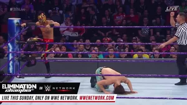 "Don't underestimate ""The Golden Lynx"" Lince Dorado on WWE Network's WWE 205 Live!"