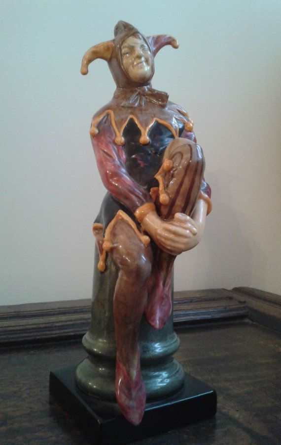 Royal Doulton 'The Jester' HN 2016 by beckysbeauties on Etsy
