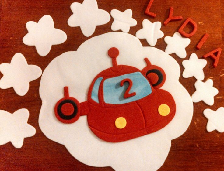 Little red rocket ship cake topper and accessory kit by CreativeCakesbyLisa on Etsy https://www.etsy.com/listing/181728664/little-red-rocket-ship-cake-topper-and