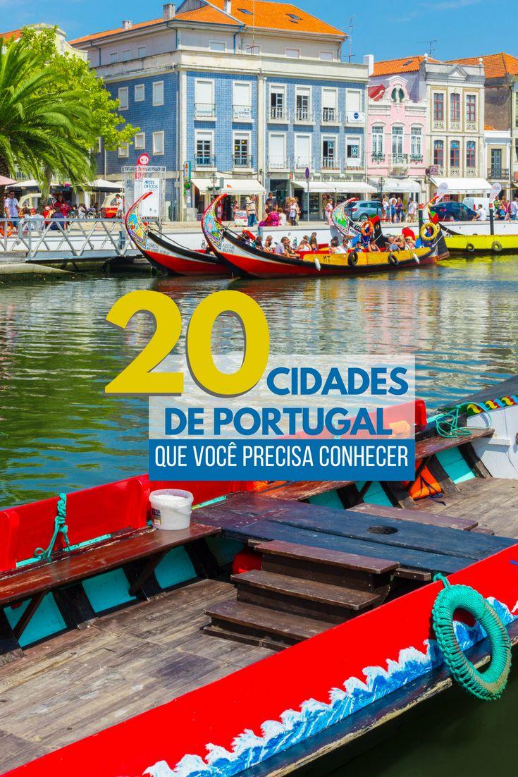Conheça 20 cidades pra você visitar em Portugal! Lugares lindos muito além de Lisboa e do Porto!