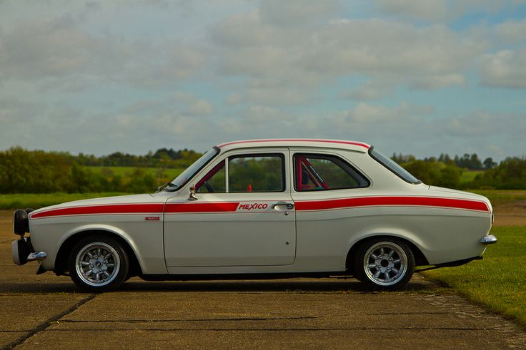 Ford Escort Mexico. Confession time: 'Loved these cars, though I never owned one, unfortunately. My personal association with them is limited to crashing my mate's into a stationary Volvo estate, as a teenager before I had a licence. The location of the deed was Parkside Avenue, Barnehurst.