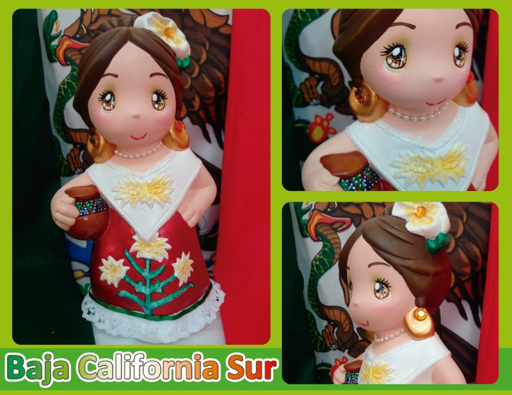 Traje típico de Baja California Sur -  Baja California Sur regional costume