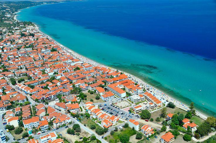 Polichrono Halkidiki, Greece