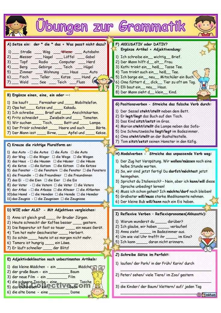 Test zur Deutsch Grammatik A1-A2-B1-B2 - play.google.com