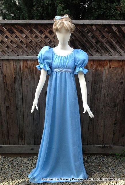 Wendy Darling Peter Pan Couture Costume Nightgown by Bbeauty79, $350.00