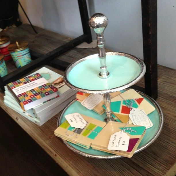 A Favorite Stop For Colorful Modern Home Decor Also Where I Co Teach Diy Classes With Store Owner Jessica Moriarty I Have This Tiered Tray Holding