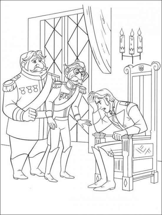 Free Frozen Coloring Pages Disney Picture 24 550x727