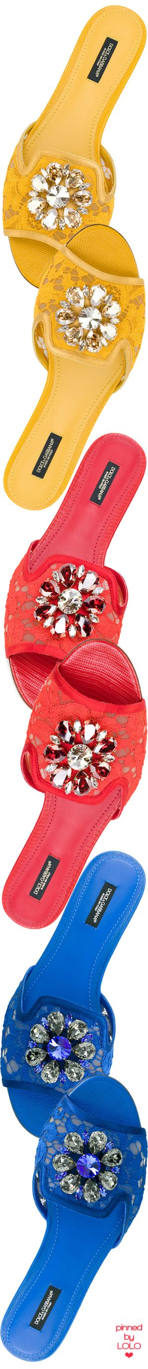 DOLCE & GABBANA Bianca Embellished Sandals