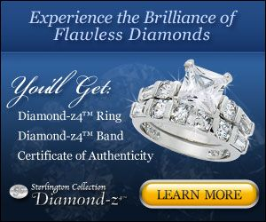 The Diamond Z4 flawless princess cut unique engagement ring is perfect for that someone special. The Diamond Z4 is inexpensive and is a gorgeous diamond ring.