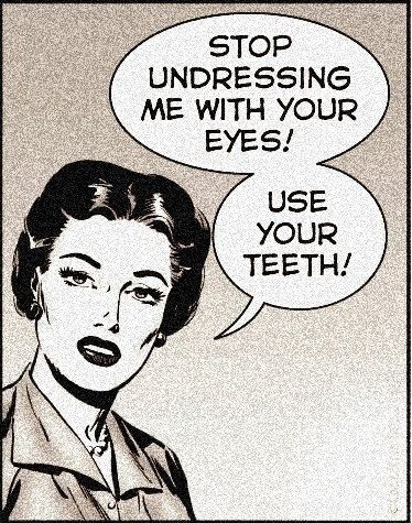 Use your teeths!: Work Humor, Funny Pics, 4 Years, Wild Quotes, Dental Care, Undress, Funny Stuff, Teeth, Eye