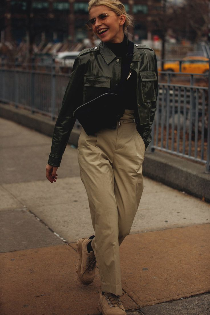 Check rock! These are the nicest street styles of New York Fashion Week
