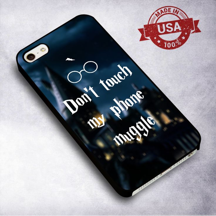 Awesome Harry Potter Muggle Funny - For iPhone 4/ 4S/ 5/ 5S/ 5SE/ 5C/ 6/ 6S/ 6 PLUS/ 6S PLUS/ 7/ 7 PLUS Case And Samsung Galaxy Case
