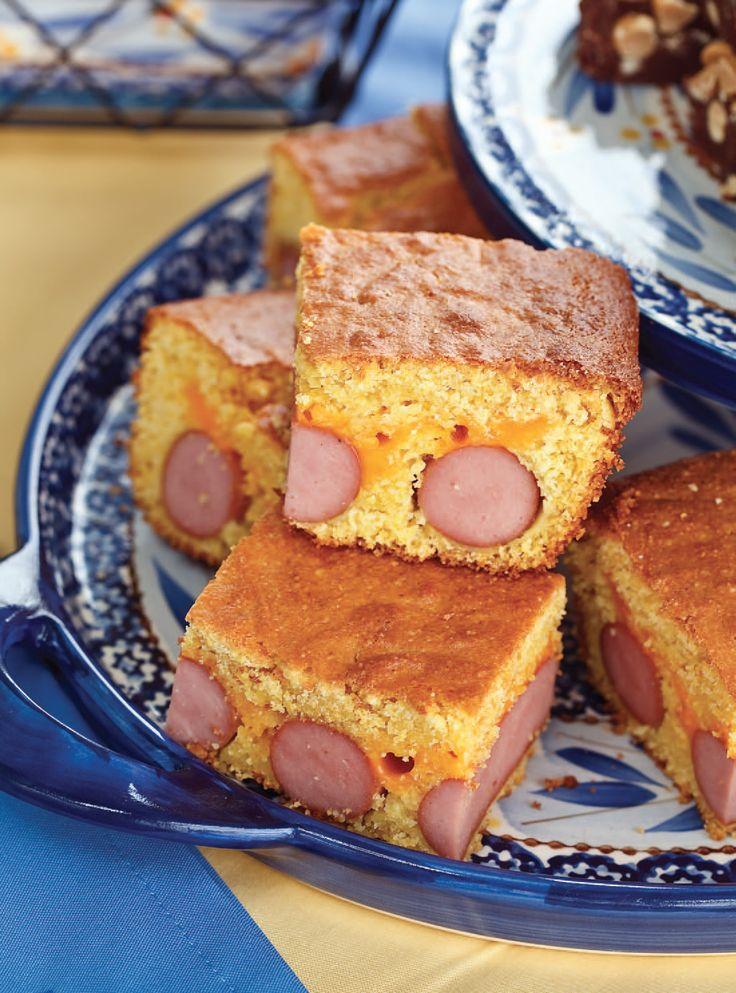 temp-tations® by Tara: Corn Dog Casserole---kids would like this