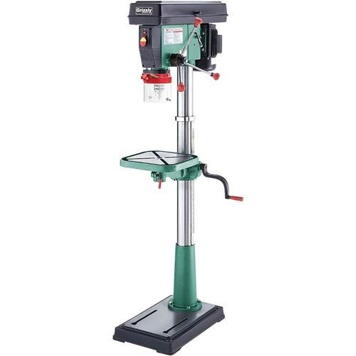 """12 Speed 17"""" Floor Drill Press   Grizzly Industrial"""