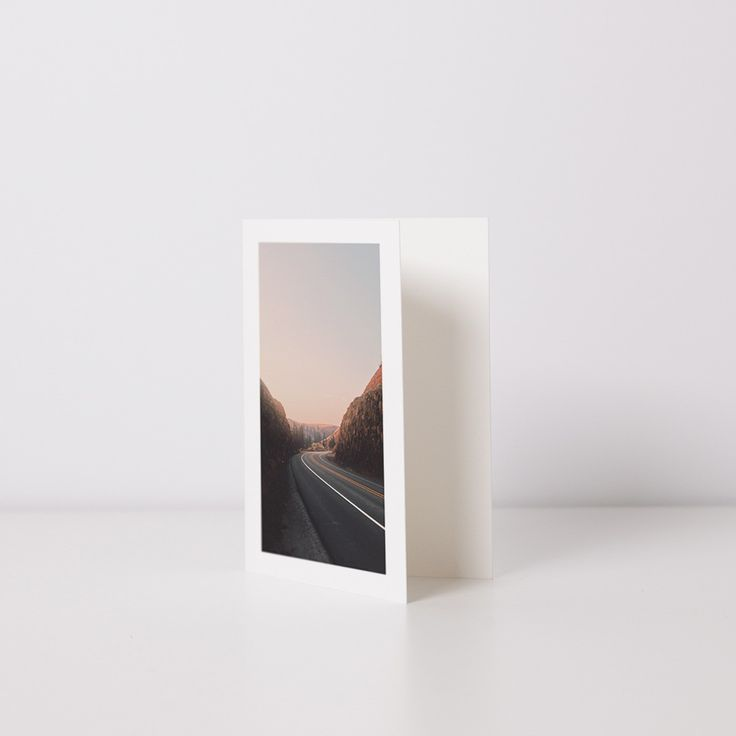 Create your own premium quality assorted photo cards for the everyday occasion. These small folded cards are printed on a thick paper with a beautiful textured finish.  Just customize the 10 cards with your favorite photos and be on your way.
