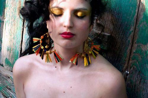 Earrings Falce  #mode #style #raffia #wudawu #fashion #style