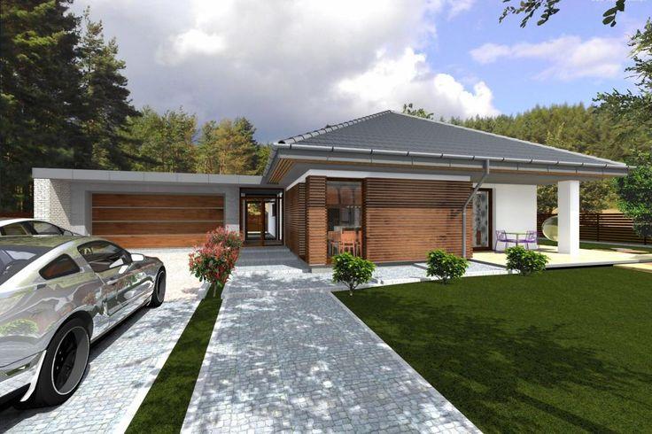 Projekty domów ABCentrum-DOM / Projekt DZ-1