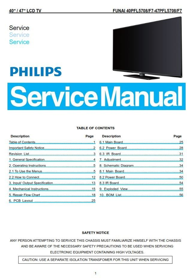 Pin on Philips Television Service Manuals Philips Lcd Tv Schematic Diagrams on
