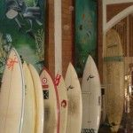Popoyo Beach Hostel surf boards for rent