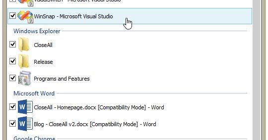 Το Closeall είναι μία μικρή ευέλικτη εφαρμογή που σας επιτρέπει να κλείσετε όλες τις εφαρμογές που εκτελούνται στον υπολογιστή σας με ένα μόνο κλικ. Χρησιμοποιεί ελάχιστους πόρους και αποτελεί μίας πρώτης τάξεως επιλογή ώστε να διαχειρισθείτε τα προγράμματά σας. Πατώντας στο εικονίδιο της εφαρμογής θα ανοίξει ένα παράθυρο στο οποίο θα δείτε τα προγράμματα που είναι ανοιχτά και από προεπιλογή τσεκαρισμένα. Αν θέλετε να τα κλείσετε όλα πατήστε απλά OK αν τώρα θέλετε να κλείσετε συγκεκριμένες…