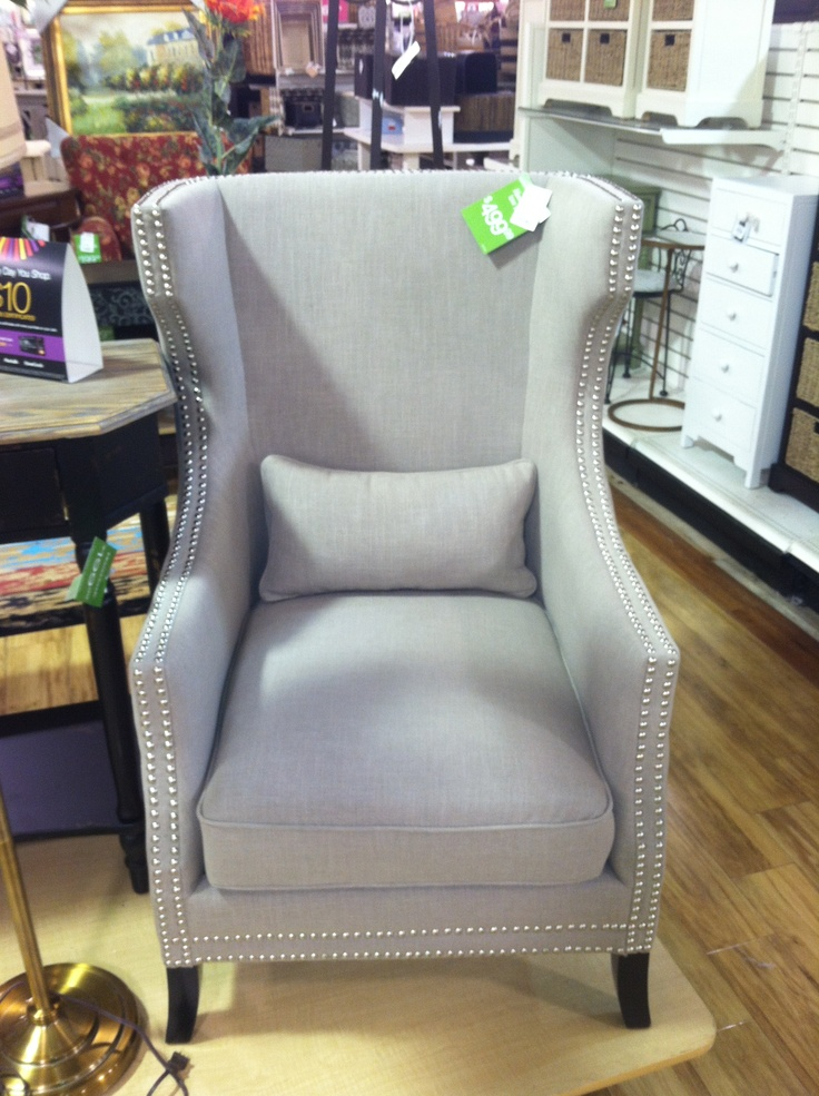 Wingback chair, TJ Maxx Home Goods - 197 Best Images About HomeGoods Finds On Pinterest Ottomans