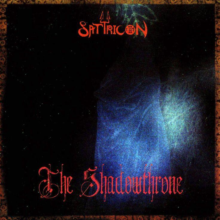 Caratula Frontal de Satyricon - The Shadowthrone