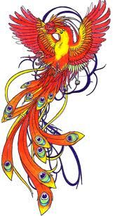 This phoenix represents the rebirth I had when I had to rebuild my life from foundations up after my divorce.