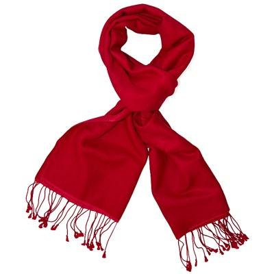 Simply Red Pashmina by ColorMeSocks™
